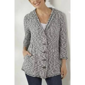 Soft Surroundings Jacket Cardigan Sweater Large
